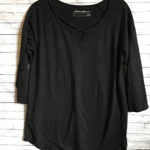 Eddie Bauer  black top